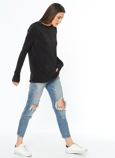 YAS Yas Siyah T-Shirt Siyah